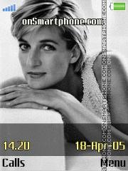 Lady Diana tema screenshot