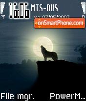 Wolf 01 es el tema de pantalla