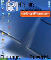 Windows XP 04 theme screenshot