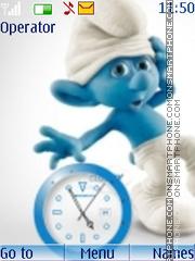 Smurfs 2011 CLK 2 theme screenshot