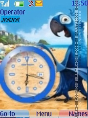 Rio Clock 2011 theme screenshot