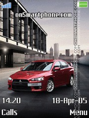 Mitsubishi Lancer tema screenshot