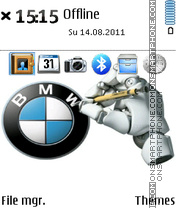 Logo Bmw theme screenshot
