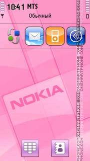 Pink Nokia 02 es el tema de pantalla