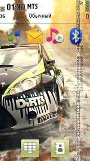 Dirt3 es el tema de pantalla