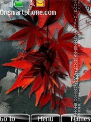 Скриншот темы Beautiful Leaves