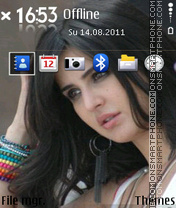 Katrina Kaif 23 theme screenshot