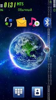 Скриншот темы Earth 94