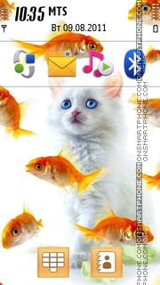 Fish Cat Theme-Screenshot