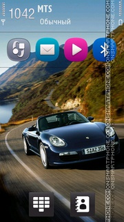Porsche With Anna Icons theme screenshot
