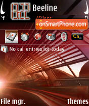 Exit 01 theme screenshot