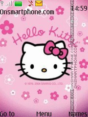 Hello Kitty 38 theme screenshot