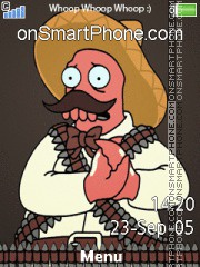 Zoidberg theme screenshot