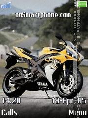 Yamaha es el tema de pantalla