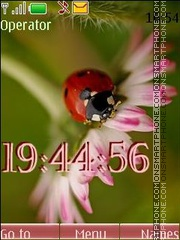 ladybird swf theme screenshot
