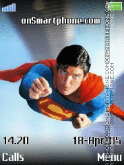 Superman tema screenshot