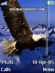 Eagle es el tema de pantalla