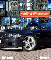BMW M3 01 theme screenshot