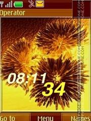 Chrysanthemum swf theme screenshot