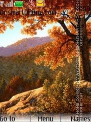 Automn Nature theme screenshot