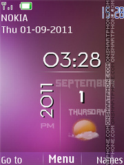 Hd Iphone View theme screenshot