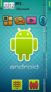 Android Theme 02 tema screenshot