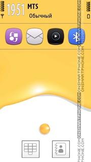 Yellow Paint tema screenshot