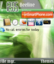 Capture d'écran My OS thème