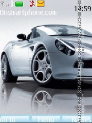 Alfa Romeo 8C Spyder 01 theme screenshot