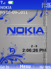 Nokia Clock 11 Theme-Screenshot
