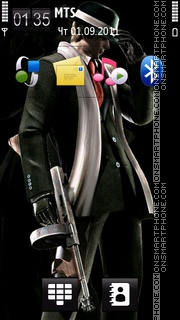 Leon Kennedy theme screenshot