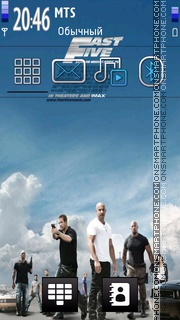 Fast Five 05 tema screenshot