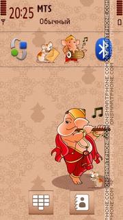 Lord Ganesha V2 es el tema de pantalla