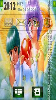 Akemi Takada theme screenshot