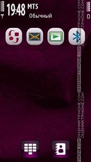 White Anna Icons S60 theme screenshot