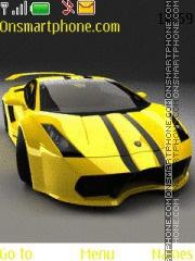 Beautiful Cars theme screenshot