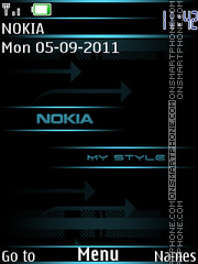 My Style Nokia theme screenshot