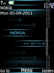 Скриншот темы My Style Nokia