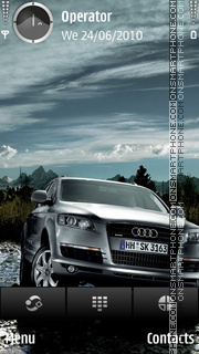 Audi q7 Theme-Screenshot