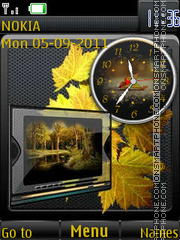 Autumn in the Schedule By ROMB39 theme screenshot