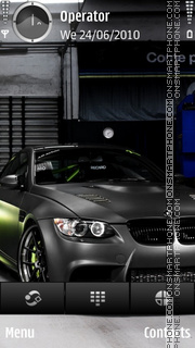 Bmw sport theme screenshot