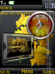 Скриншот темы Autumn in the Schedule B By ROMB39