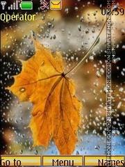 Autumn rain theme screenshot