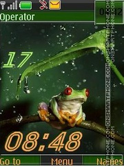 Frog SWF theme screenshot