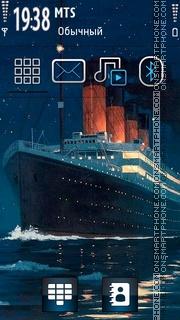 Titanic 05 tema screenshot