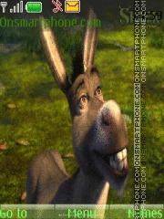 Скриншот темы Shrek Donkey