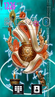 Lord Ganesh 07 theme screenshot