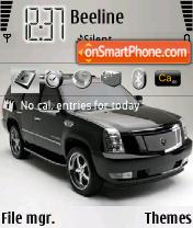 Cadillac Escalade V.1 theme screenshot