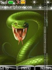 Green Cobra theme screenshot