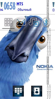 Rio Nokia theme screenshot